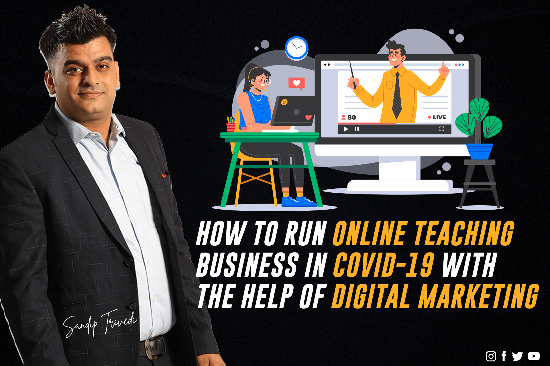 Online teaching business in covid-19 blog