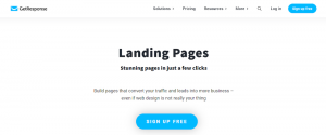 landing page creation tool