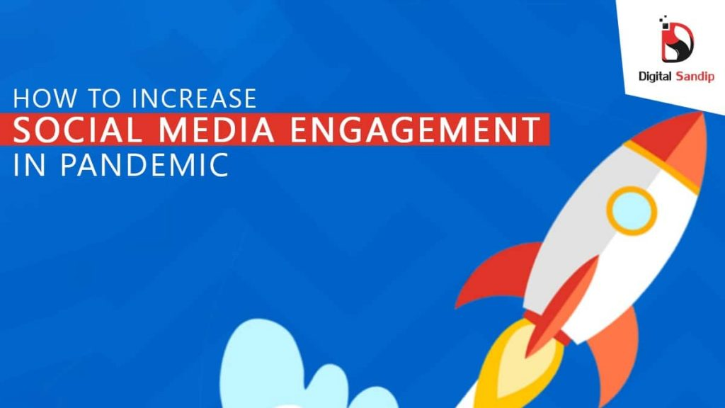 social media engagement in pandemic